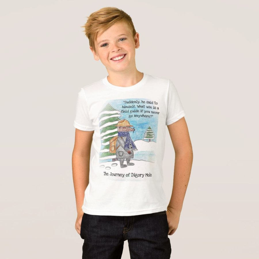 Digory Mole Starts His Journey T-shirt