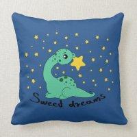 Dinosaur - Throw Pillow 20x20 | Zazzle