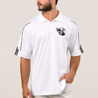 DiRT Canon Men's Adidas Golf ClimaLite® Polo Shirt