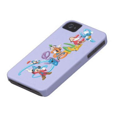 Disney Logo | Mickey and Friends iPhone 4 Case