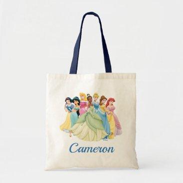Disney Princess | Aurora, Tiana, Cinderella Center Tote Bag