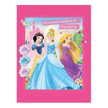 Disney Princess | Believe in Friendship Postcard