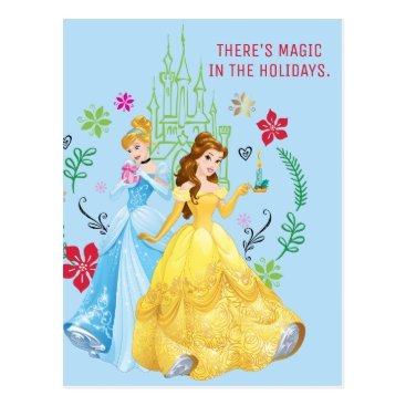 Disney Princess | Christmas Princesses Postcard
