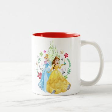 Disney Princess | Christmas Princesses Two-Tone Coffee Mug