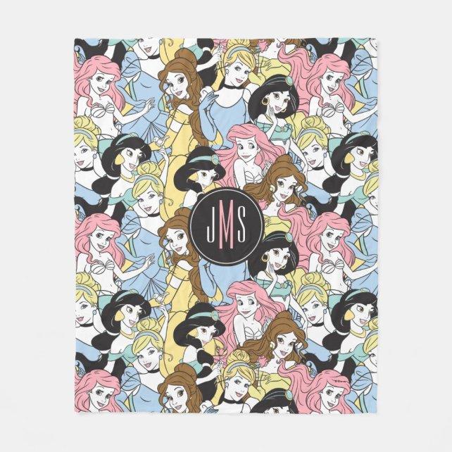 Disney Princess | Monogram Oversized Pattern