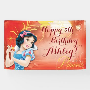 Disney Princess Snow White Birthday Banner
