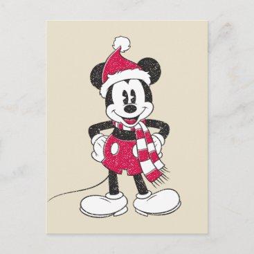 Disney   Vintage Mickey - Festive Fun Postcard