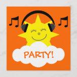 ❤️ DJ Sun, Headphones & Musical Notes Customizable