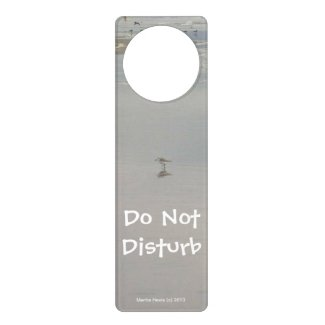 Do Not Disturb Beach (Personalize) - Door Hanger
