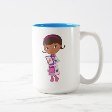 Doc McStuffins | All Part of my Job Two-Tone Coffee Mug
