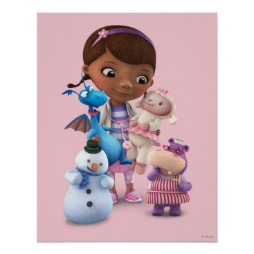 Doc McStuffins and Her Animal Friends Poster