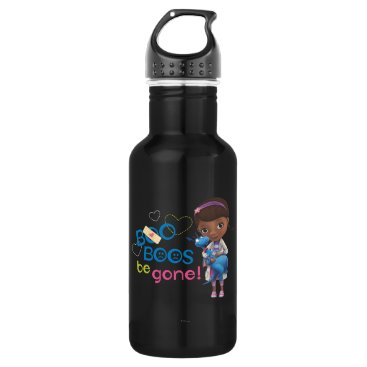 Doc McStuffins and Stuffy - Boo Boos Be Gone 2 Stainless Steel Water Bottle