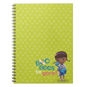 Doc McStuffins and Stuffy - Boo Boos Be Gone Notebook