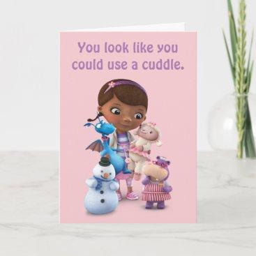 Doc McStuffins & Friends   Get Well Card