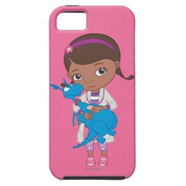 Doc McStuffins Holding  Stuffy iPhone SE/5/5s Case