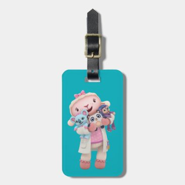 Doc McStuffins | Lambie - Hugs Given Here Bag Tag