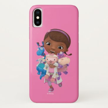 Doc McStuffins | Sharing the Care iPhone X Case