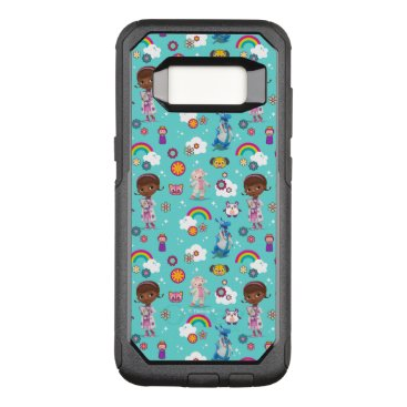 Doc McStuffins | The Care Team Pattern OtterBox Commuter Samsung Galaxy S8 Case