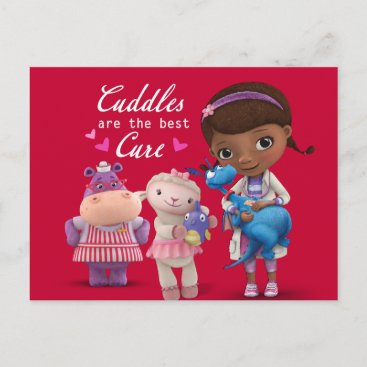 Doc McStuffins Valentine Holiday Postcard