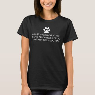 Dog Love At First Sight T-Shirt
