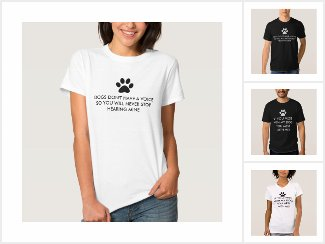 Dog Lovers Saying Shirts