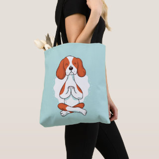 DOG YOGA TOTE BAG