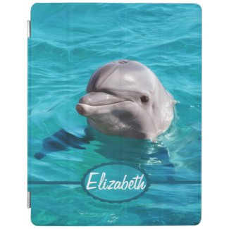 Dolphin in Blue Water Photo iPad Smart Cover