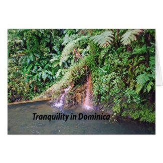 Dominica Island Greeting Cards