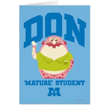 Don Mature Student Card