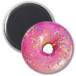 Donut Pink Magnet