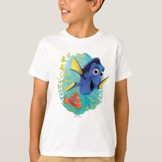 Dory & Nemo | Swim With Friends T-Shirt