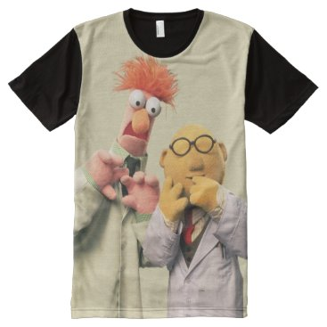 Dr. Bunsen Honeydew and Beaker All-Over-Print Shirt
