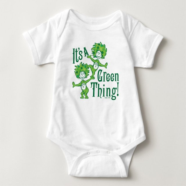 Dr. Seuss | It's a Green Thing! Baby Bodysuit