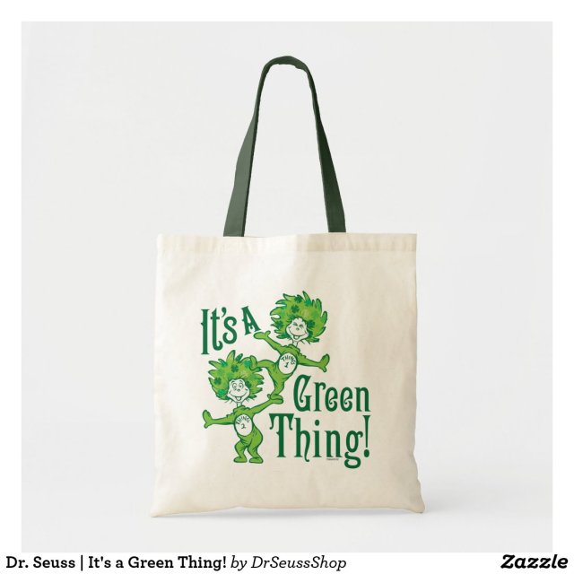 Dr. Seuss | It's a Green Thing! Tote Bag