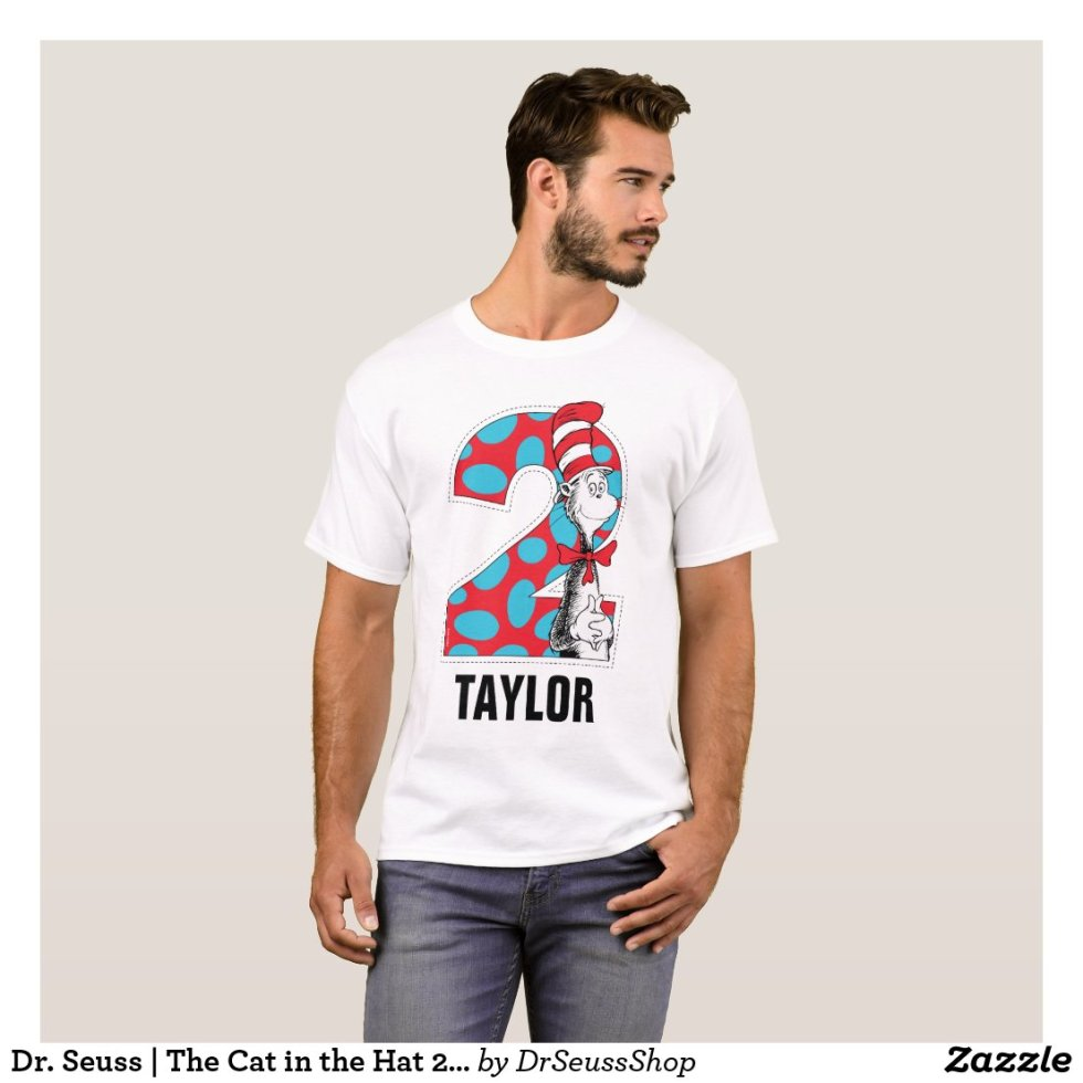 Dr. Seuss | The Cat in the Hat 2nd Birthday T-Shirt