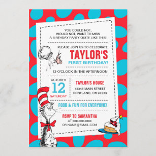 dr seuss invitations zazzle