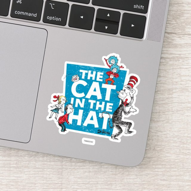 Dr. Seuss | The Cat in the Hat Logo - Characters Sticker