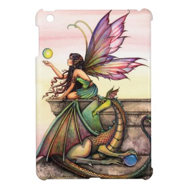 Dragon's Orbs Fairy Dragon Fantasy Art iPad Mini Case For The iPad Mini