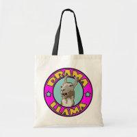 Drama Llama, Tote Bag