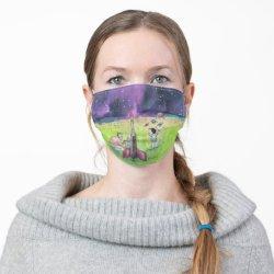 Dreams of the Rocket Man Face Mask