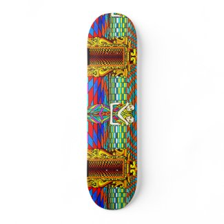 Duality - CricketDiane Geometrix Skateboard Design skateboard