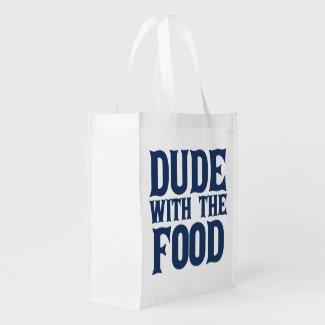 Dude With The Food Market Tote