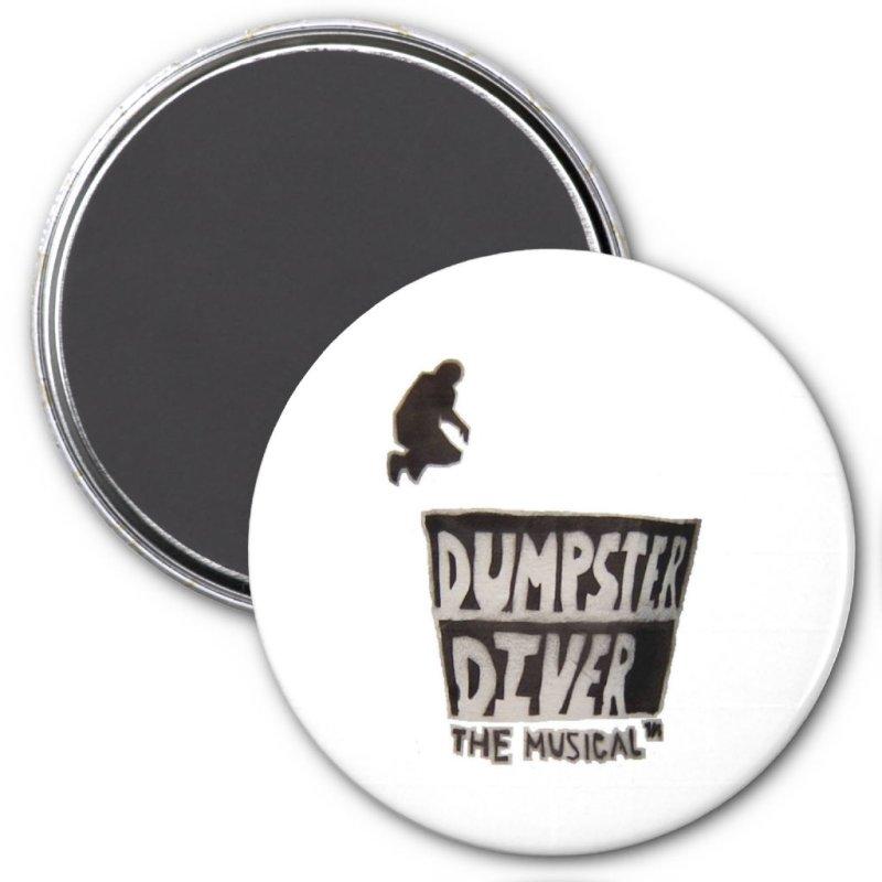 Dumpster Diver the musical™ magnet
