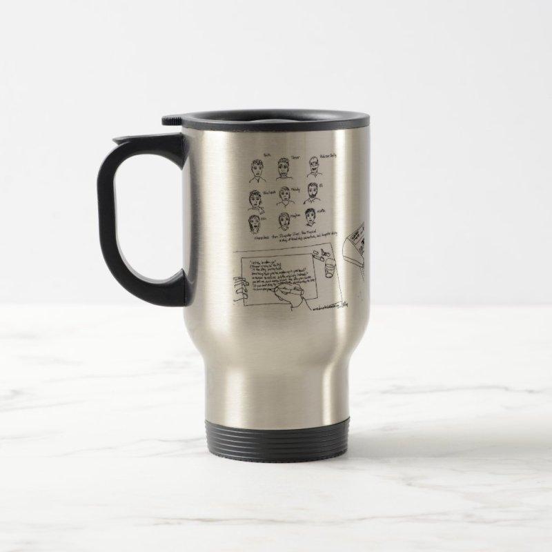 Dumpster Diver the musical™ mug