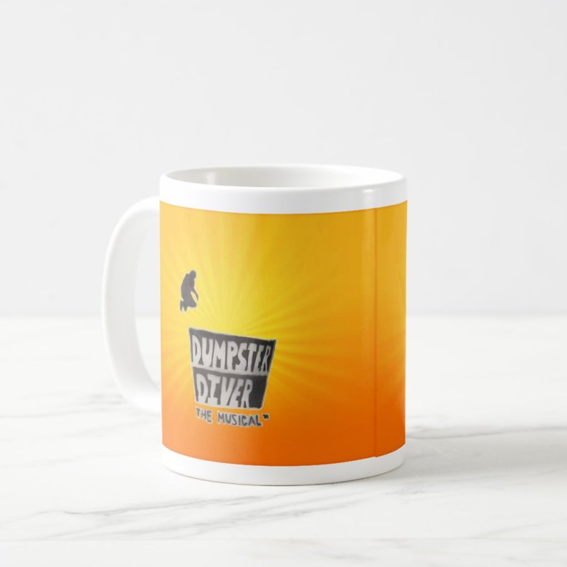 Dumpster Diver the musical™ mug