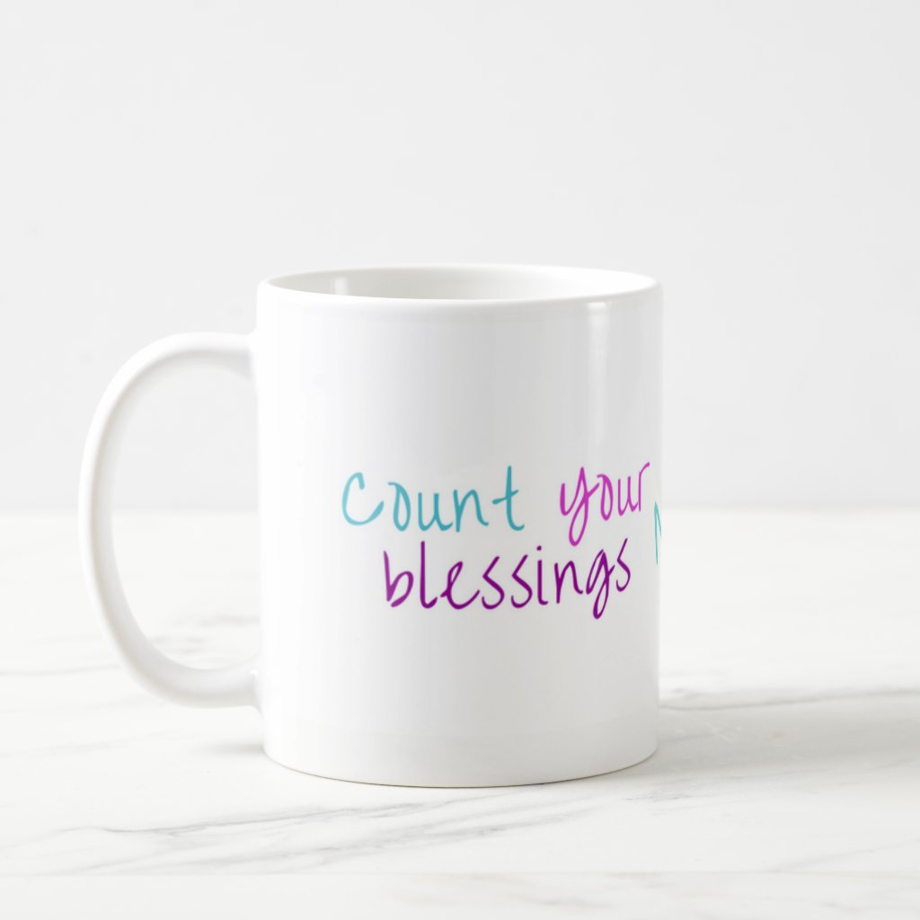 Dust Bunnies Count Your Blessings Mug - No Border