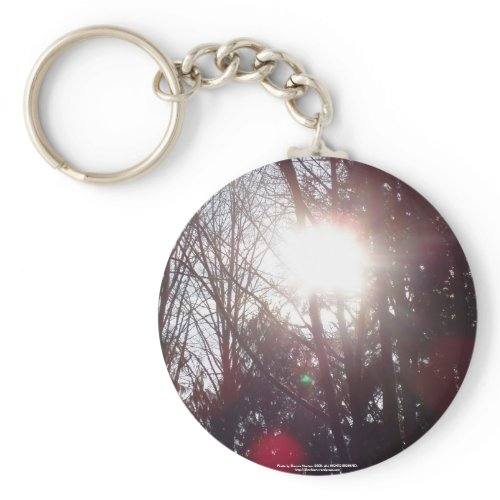 Early Morning Sun Rays #19 keychain