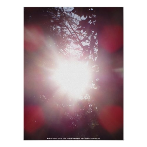 Early Morning Sun Rays #25 print