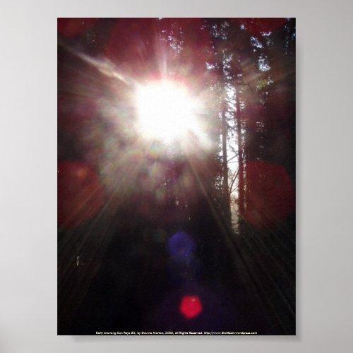 Early Morning Sun Rays #2 print
