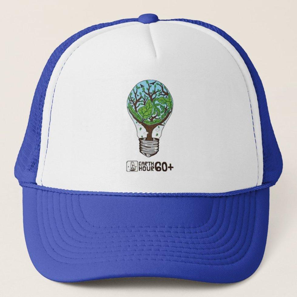 Earth Hour Trucker Hat
